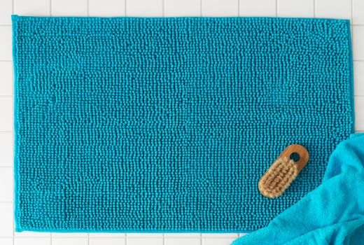 Give your feet a softer, warmer landing with the TOFTBO bathmat.