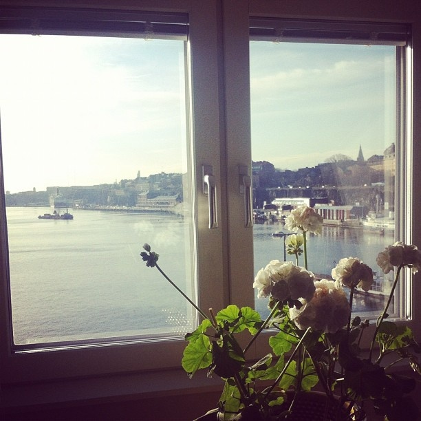 Window view in Old town, Stockholm