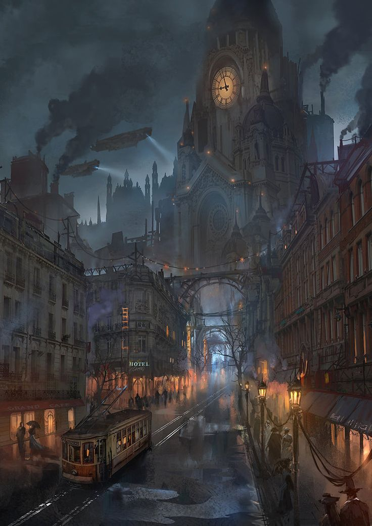 #Art of the Day. Lyonesse City (another one!) by flaviobolla on DeviantArt