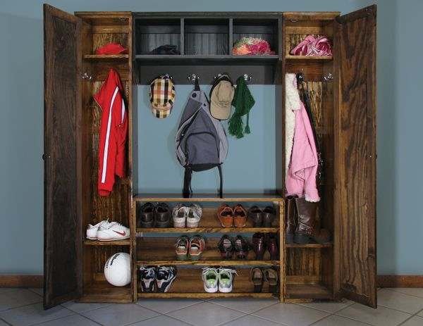 Mudroom Modular Storage : Best images about lockers mudroom entryway