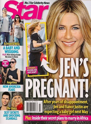 Is Jennifer Aniston Pregnant For Reals This Time?