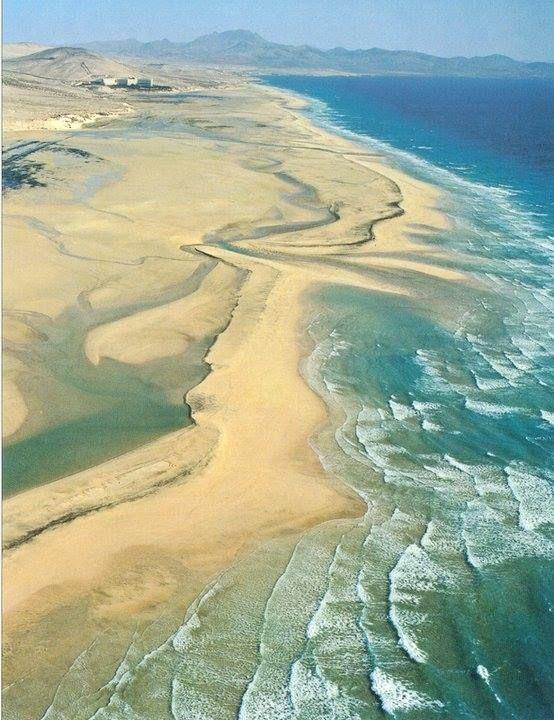 Sotavento Beach. Fuerteventura. Canary Islands.