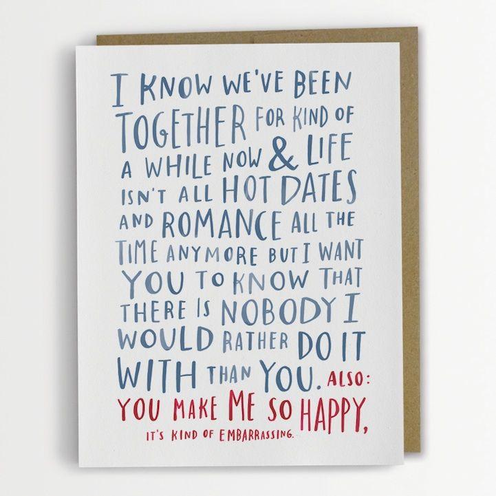 Hilariously Awkward Cards by Emily McDowell - My Modern Met (Awkward Birthday Card)