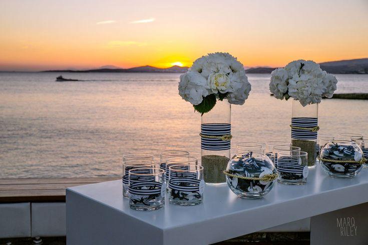 Ultra Marine Chic Wedding @ Veghera Lagonissi Resort   De Plan V http://www.deplanv.com