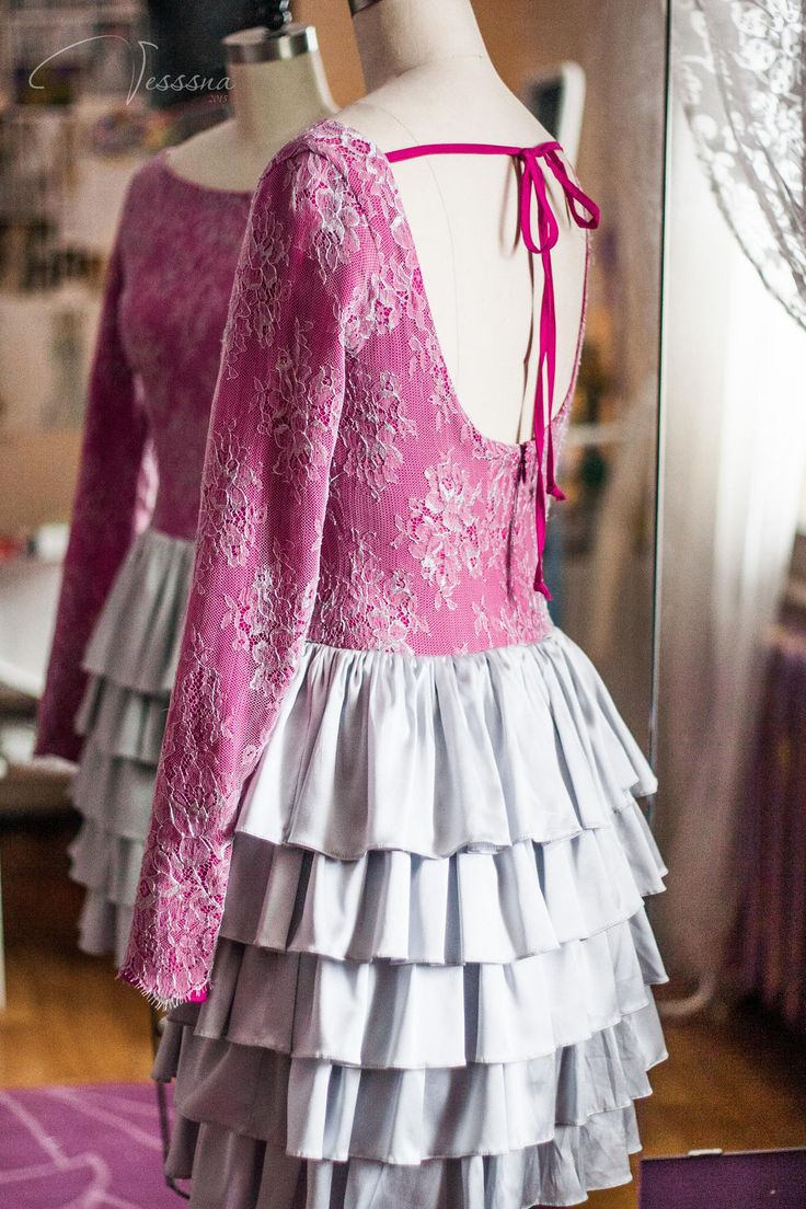 Vesssna Wedding — 2015 — Вечернее платье Фуксия — платье цвета фуксии (3)