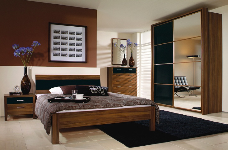 Prague  Bedroom Furniture Range  An extremely suave and handsome furniture  range  choose either the colonial style of deep walnut or the Shaker. Prague  Bedroom Furniture Range  An extremely suave and handsome