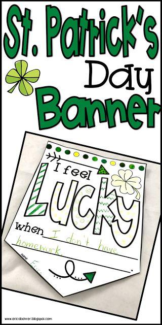 St. Patrick's Day Banner Freebie