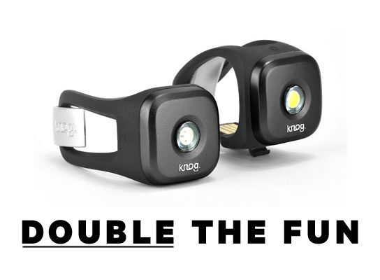 Blinder 1 Cycle lights -  Now in twin packs - Blinder 1 twin packs now available online and from local Knog dealers.