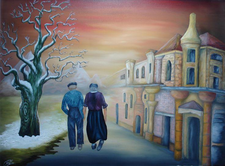 Naar de kim Samen oud worden dat is de wens van iedereen. samen genietend door het leven tot het einde toe. Ad Tolboom