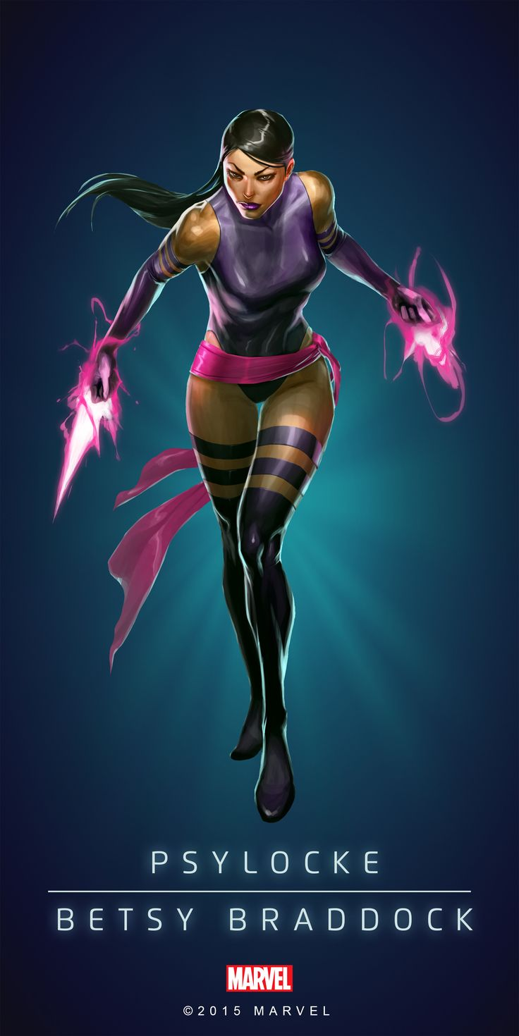 #Psylocke #Fan #Art. (PSYLOCKE - BETSY BRADDOCK IN: MARVEL'S PUZZLE QUEST!) BY: AMADEUS CHO! (THE * 5 * STÅR * ÅWARD * OF: * AW YEAH, IT'S MAJOR ÅWESOMENESS!!!™) [THANK U 4 PINNING!!!<·><]<©>ÅÅÅ+(OB4E)(IT'S THE MOST ADDICTING GAME ON THE PLANET, YOU HAVE BEEN WARNED!!!)