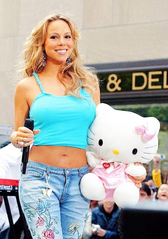 Mariah Carey and Hello Kitty!