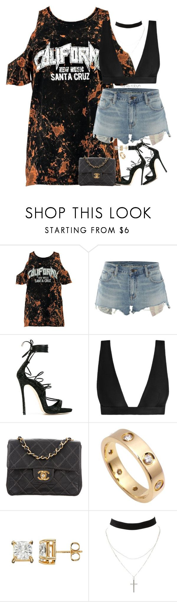 """""""childish gambino // redbone   V   III   XVII"""" by kahla-robyn ❤ liked on Polyvore featuring Boohoo, Denim & Supply by Ralph Lauren, Dsquared2, Zimmermann, Chanel, Cartier and Charlotte Russe"""