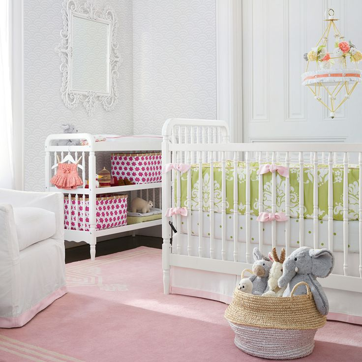 1700 best images about girls room non pink on pinterest for Serena and lily baby girl bedding