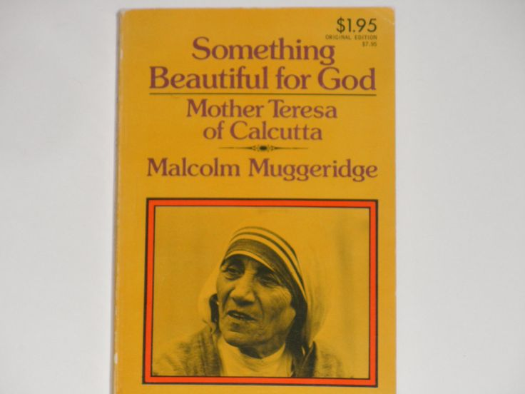 Something Beautiful for God - Mother Teresa of Calcutta - Malcolm Muggeridge - Doubleday Image Paperback Book 1977 - Vintage Religious Book by notesfromtheattic on Etsy