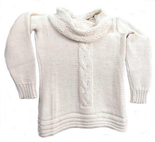 Natur farbener Damen #Pullover #Rollkragen Pullover #Alpakawolle Zopfmuster weiter Rollkragen