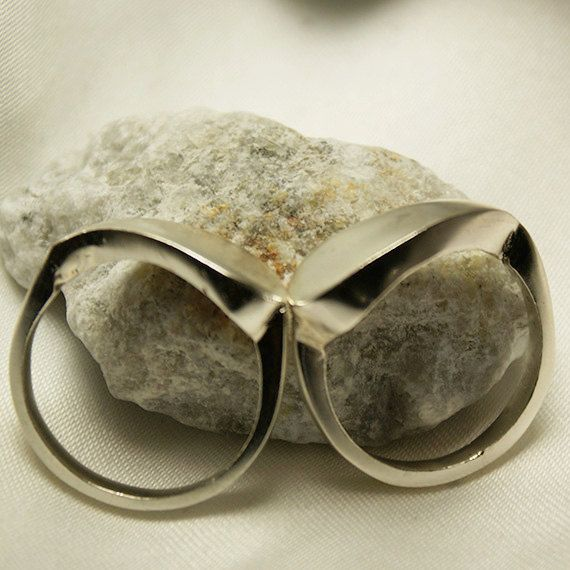 Stacking Silver Ring by LaremelStudio on Etsy, $18.00