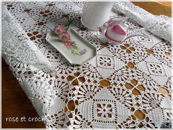 Beautiful tablecloth.