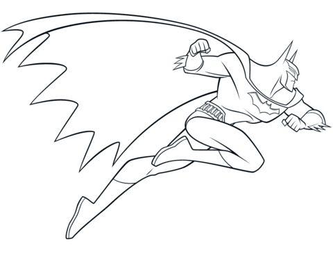 Beware the Batman Coloring page