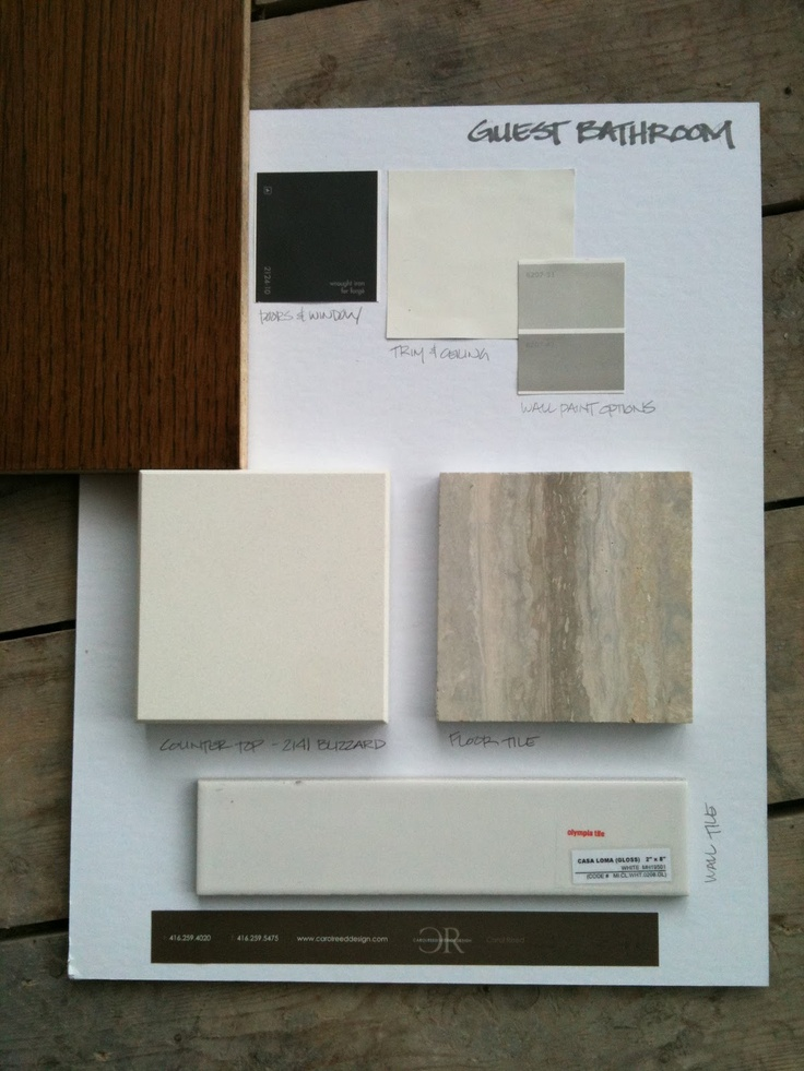 22 best sample board images on pinterest color for Bathroom design samples