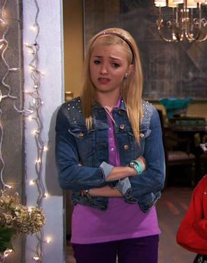 Outfit worn by Emma Ross in Jessie. Shop the Screen with Spylight!