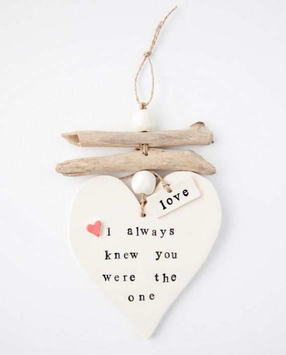 Wall Decor - I always knew you were the one...great as a wedding gift to your pruner, as an anniversary gift or for Valentine's Day-xx-