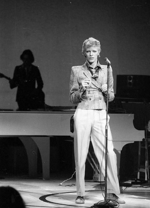 David Bowie, a.k.a. The White Duke