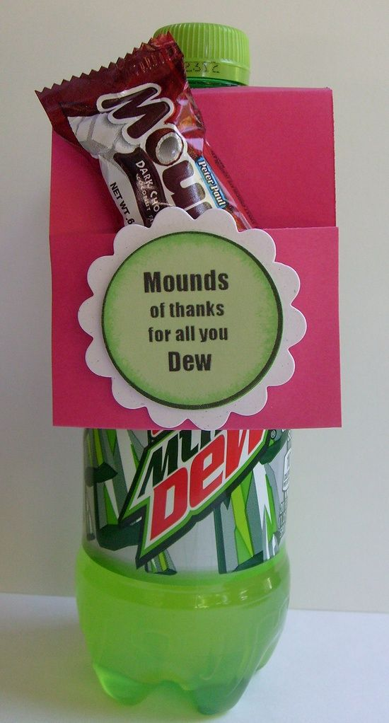 Mounds of thanks for all you Dew! I got this for a SS GIFT & it totally made my day!:-))