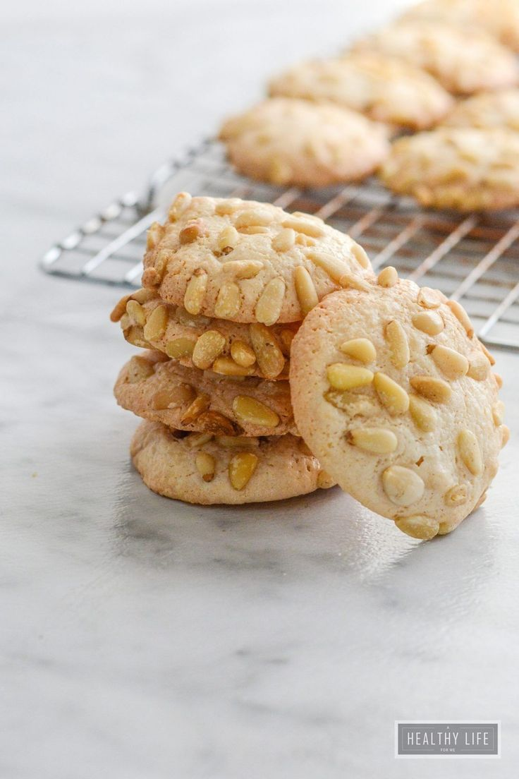 Italian Pignoli Cookie