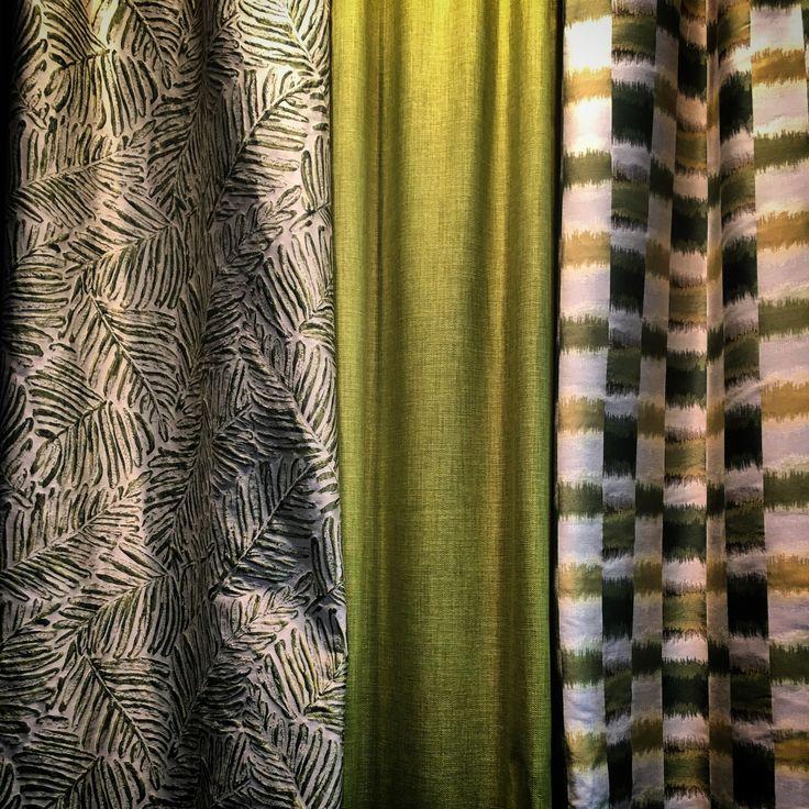 WIND goes green! #heimtextil2017 #greenery #pantone #coloroftheyear2017 #interior #design #trend #colouroftheyear
