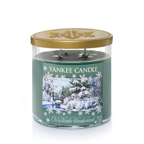Winter Wonderland© Collection (In a Winter Wonderland©) : Medium 2-Wick Tumbler Candles : Yankee Candle