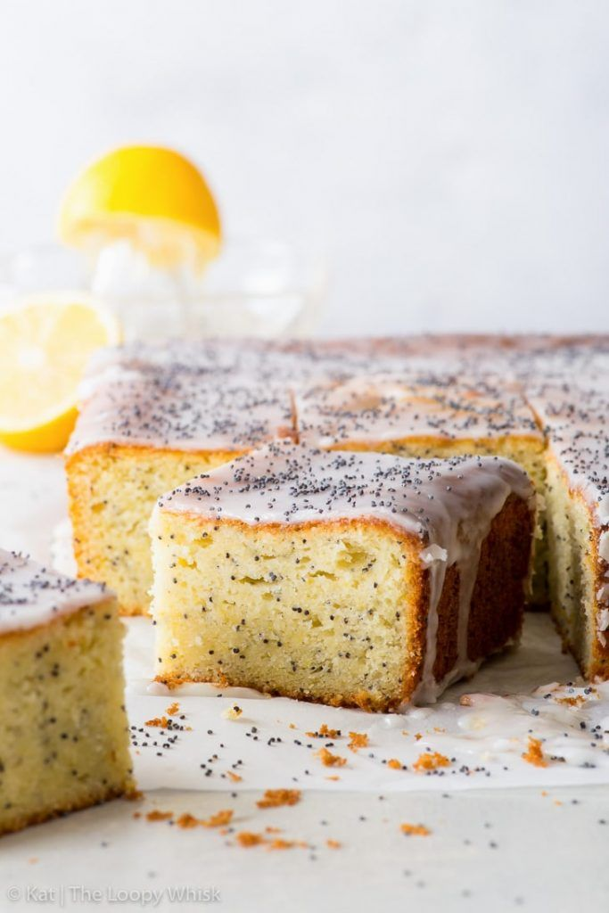 Simple Lemon Poppy Seed Cake Gluten Free There S Magic In