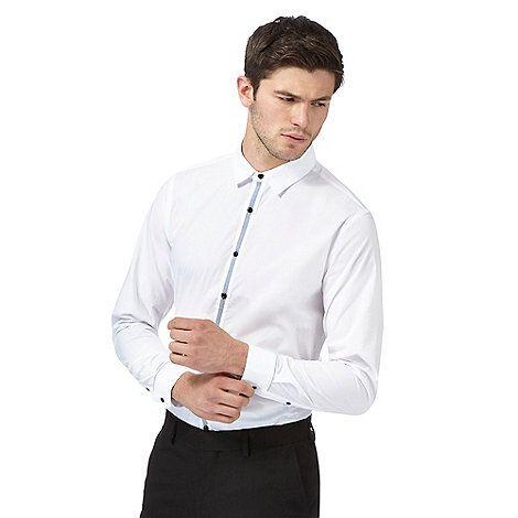 Red Herring White Slim Fit Shirt