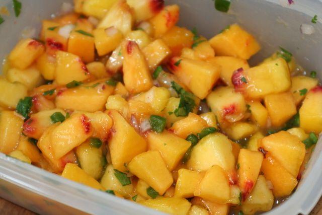 ... mmmmm salsa sounds salsa food fresh salsa mango salsa mangonero peach