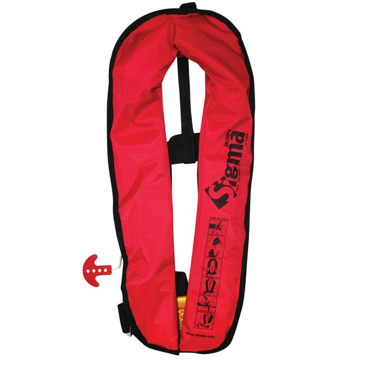 The Sigma life jacket is a ultra lightweight, comfortable to wear,  user-friendly life jacket.