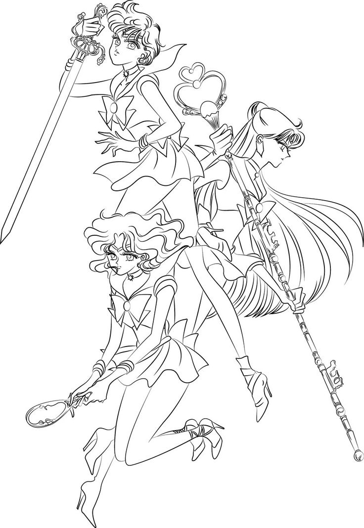 276 best Anime coloring pages images