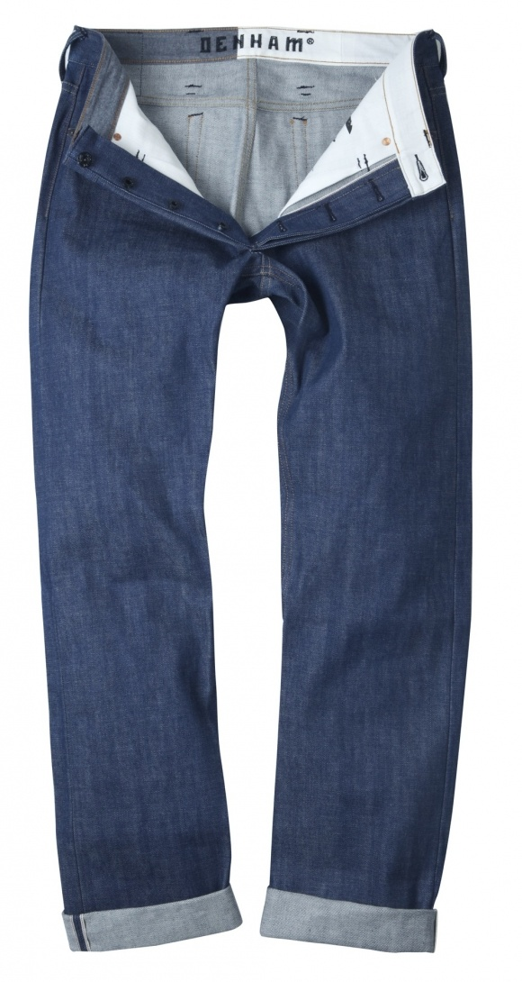 Natural Virgin Indigo Seed Denim by Denham