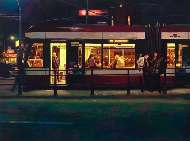 Painter Keita Morimoto turns Torontos cityscapes into uncanny alternate realities. Each painting shows affection for gritty urban scenes finding romance in the ugliest parts of city life: cold walks home gas stations underground parking. For more of his work visit torontolife.com. : @keitam0108 courtesy of @metiviergallery  #paint #paintings #art #artist #design #create #painter #cityscapes #toronto @torontolife with @insta.save.repost