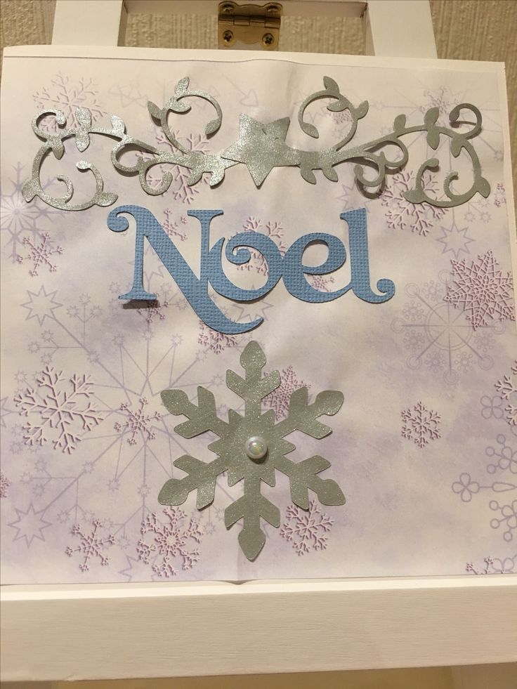 a Christmascard where I used som features from brother scan'ncut and metal dies