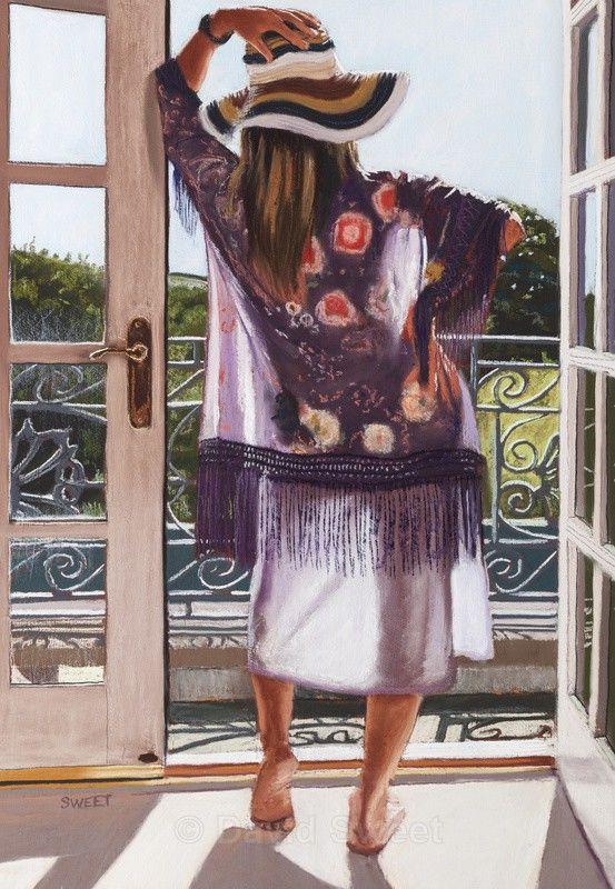 Summertime in Kirkubbin - Paintings
