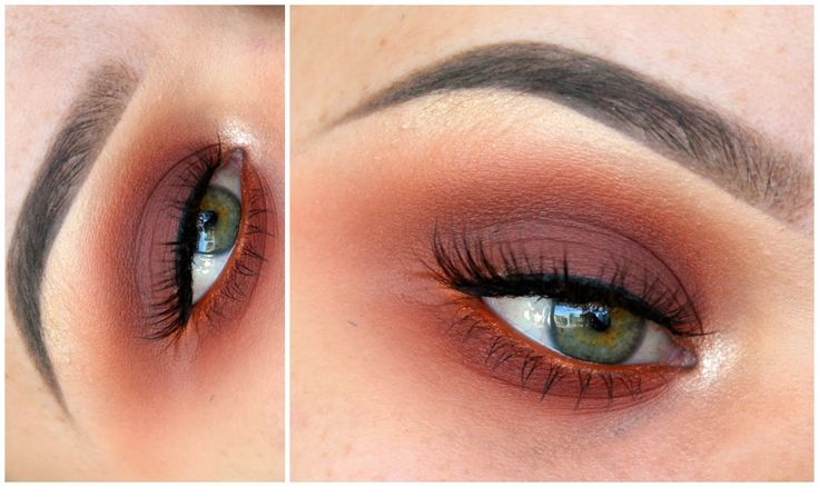 Warm Smokey Eye ft. ABH Modern Renaissance Palette | MakeupwithJah