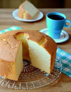 Very Vanilla Chiffon Cake | Baking Bites The perfect all-occasion cake!