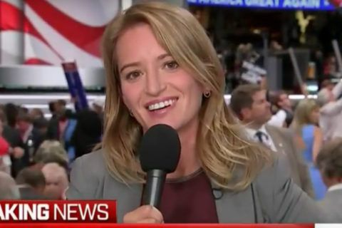 Katy Tur's Intense Exchange with Donald Is What Journalism Is About