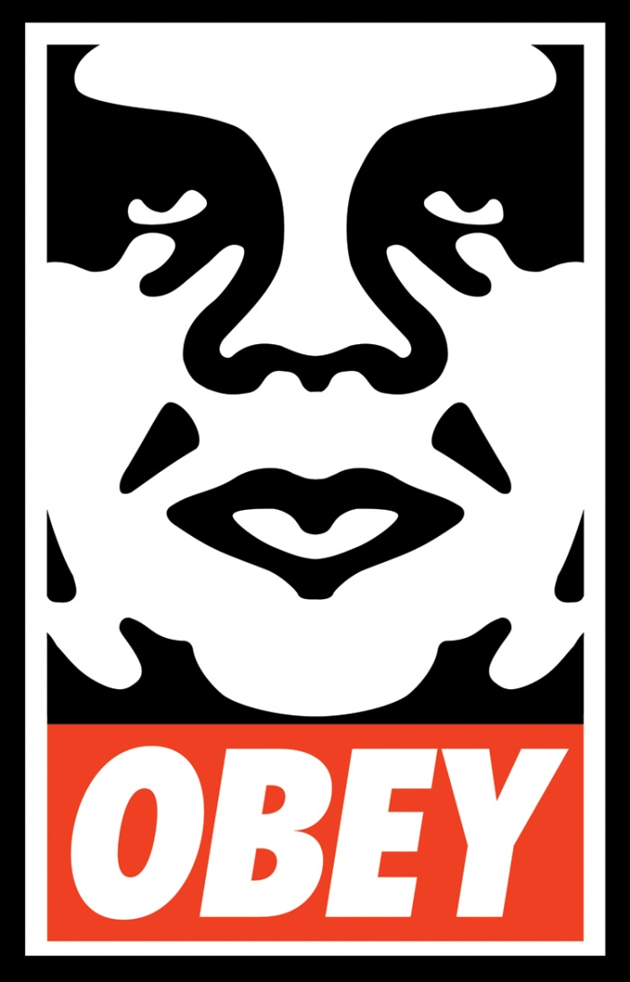 Obey logo is very well known and stands out. I feel the