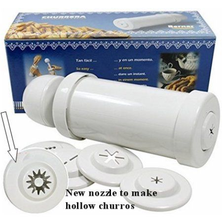 Free Shipping. Buy Churrera / Churro maker with hollow nozzle. Imported from Spain at Walmart.com
