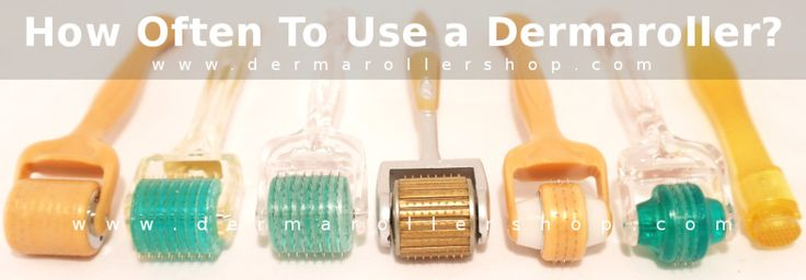 A lot of derma roller users are concerned about how often to use a dermaroller. Read more to benefit most from your derma roller treatments.