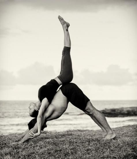 Acro-yoga poses to inspire you. #yoga