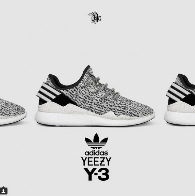 Yeezy 350 Boost : Un remix avec la Y3, quand Kanye West rencontre Yohji  Yamamoto. Yeezy SeasonTrainer ShoesSports ShoesShoes SportMen Running ...