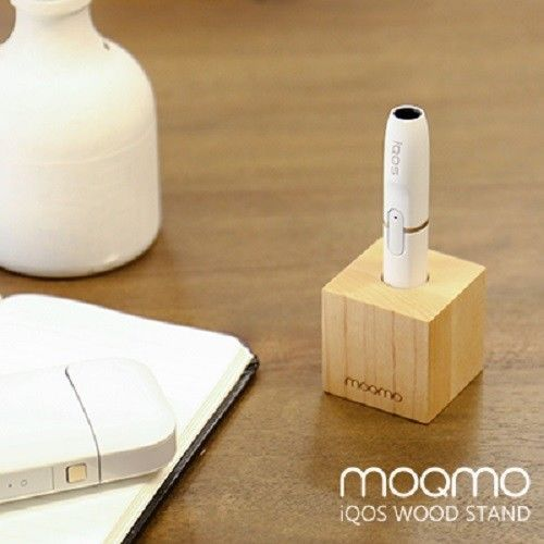#IQOS #Handmade #Wood #Stand Holder Body Japanese Edition Stylish #iQOS Maple Color