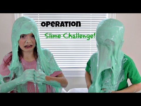 Jordan and Ty play a weird game of Operation Slime! Touch the metal edge  with your tweezers in this funny game while trying to remove an ailment  will ...