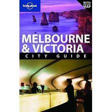 Lonley Planet Melbourne & Victoria City Guide[ With Pullout Map]